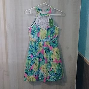 Lilly Pulitzer Kinley Pink Sunset Dress 00